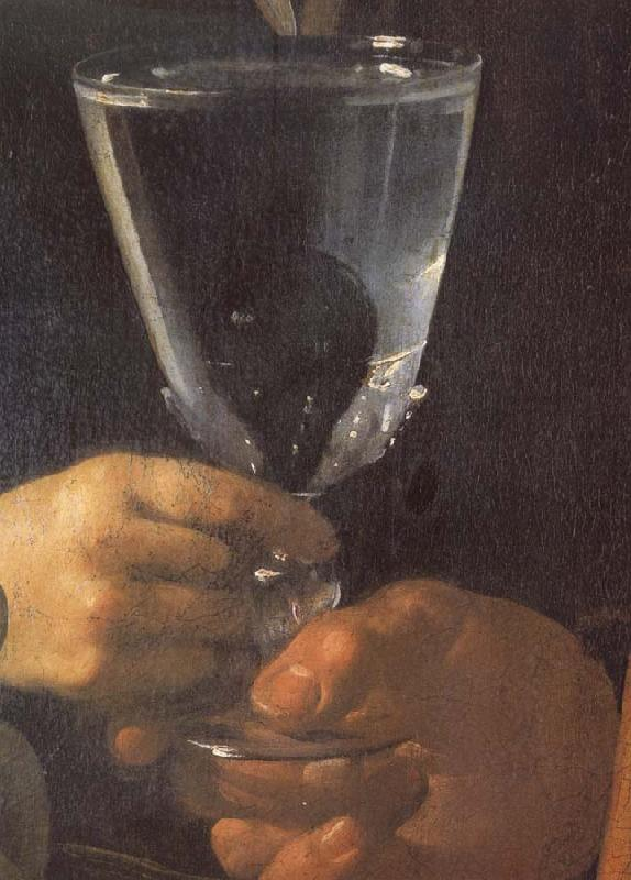 Diego Velazquez Detail of the water seller of Sevilla