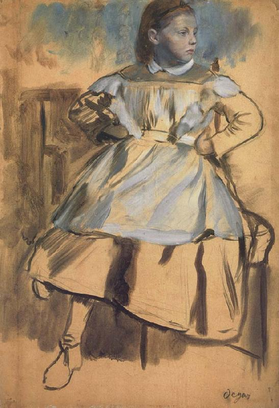 Edgar Degas Glulia Bellelli,Study for the belletti Family