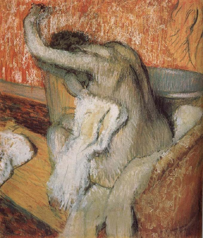 Edgar Degas The lady wiping body after bath