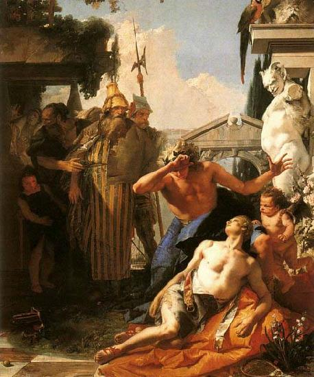 Giovanni Battista Tiepolo The Death of Hyacinth