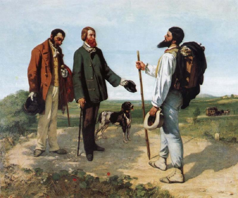 Gustave Courbet Encounter