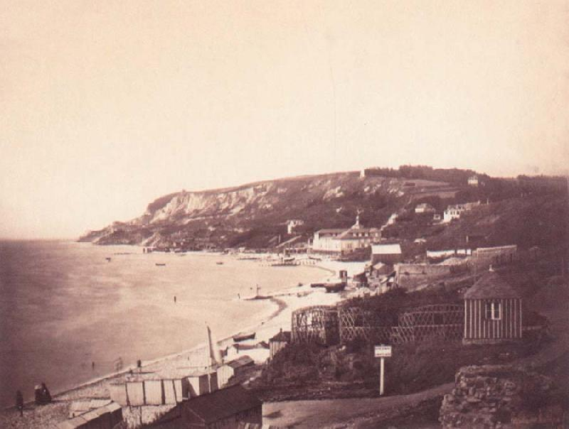 Gustave Le Gray Beach at Sainte-Adresse