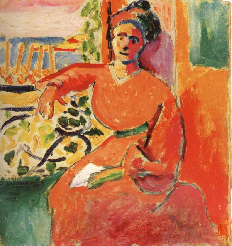 Henri Matisse Woman in the front of window