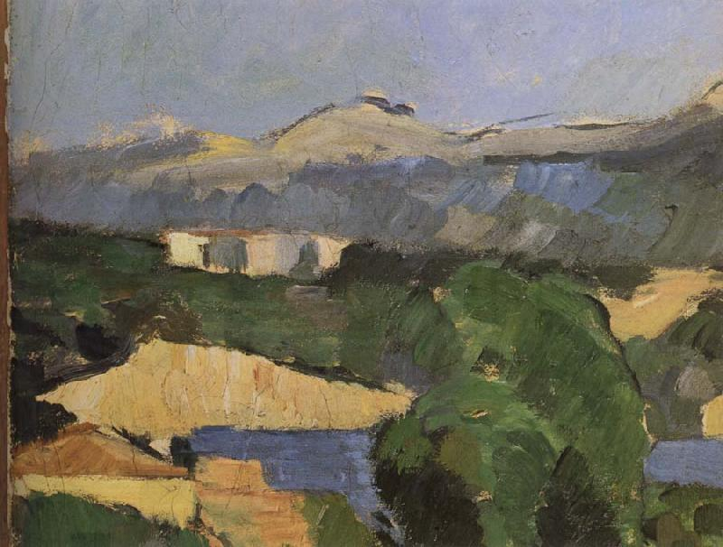 Paul Cezanne Mountain