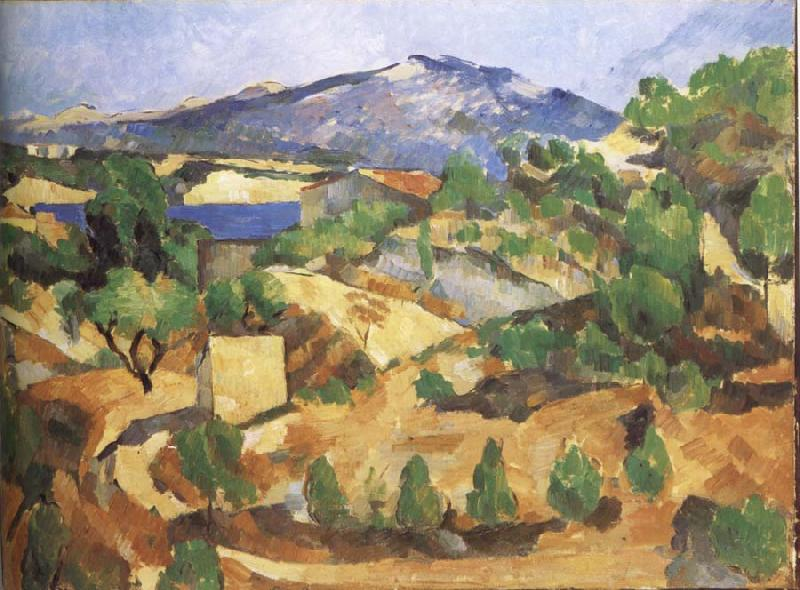 Paul Cezanne The Mountain