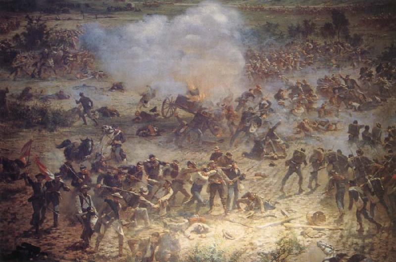 Paul Philippoteaux Cyclorama of Gettysburg