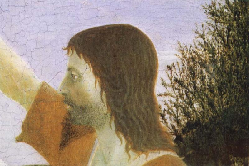 Piero della Francesca Detail of Baptism of Christ