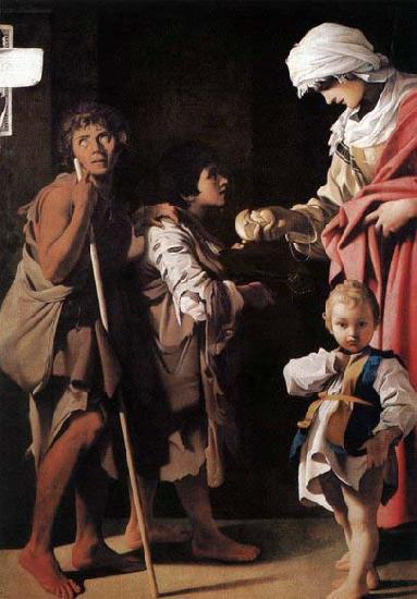 SCHEDONI, Bartolomeo The Charity oil painting image