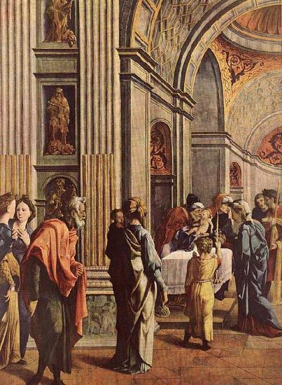 SCOREL, Jan van Presentation of Jesus in the Temple oil painting image