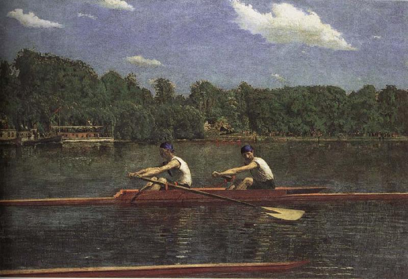 Thomas Eakins The buddie is rowing the boat