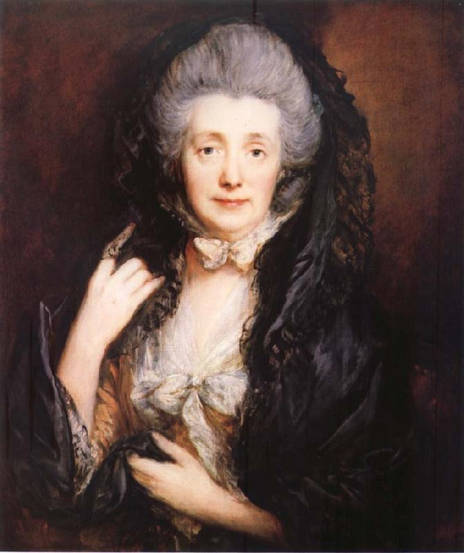 Thomas Gainsborough Portrait of artist-s Wife