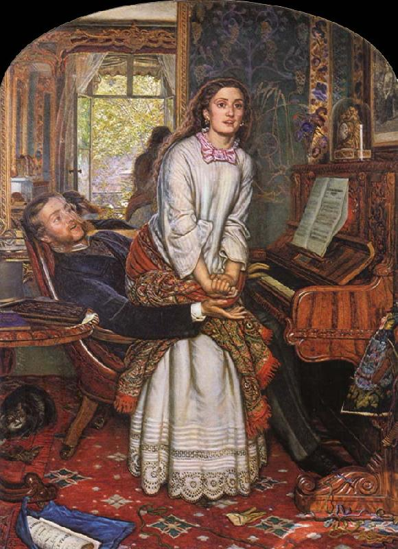 William Holman Hunt Unknown work
