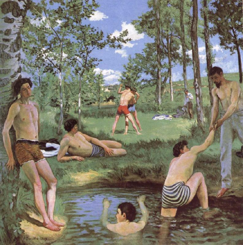 Bazille, Frdric Bathers