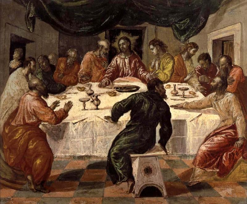 El Greco The last supper