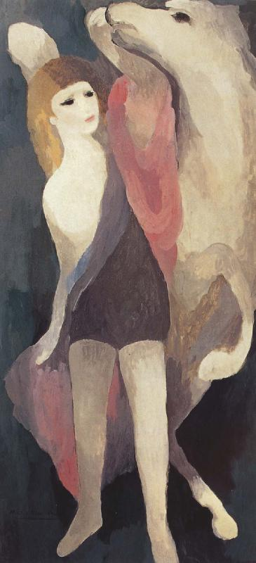 Marie Laurencin Female and white horse
