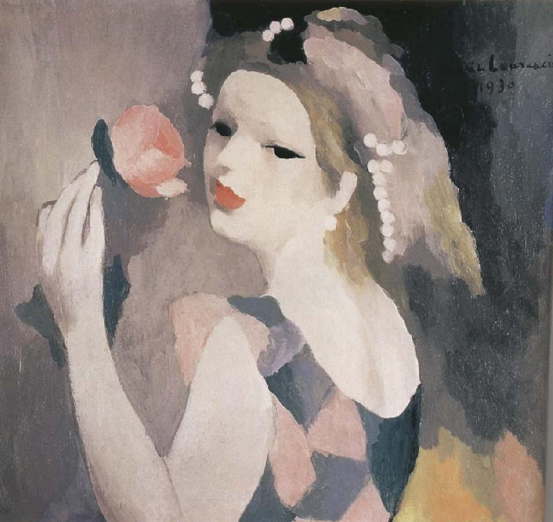 Marie Laurencin Female and rose