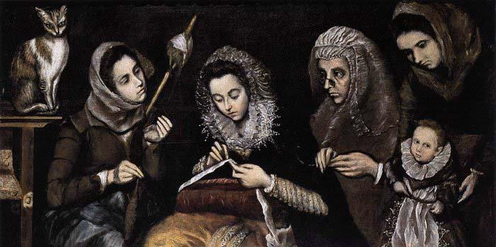 unknow artist The Family of El Greco