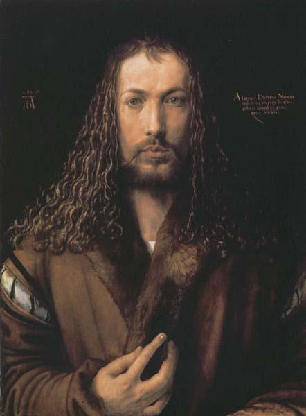 Albrecht Durer Self-Portrait oil painting image