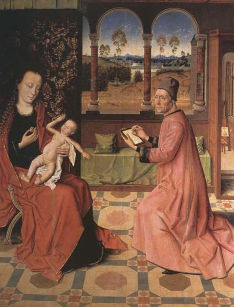 Dieric Bouts Saint Luke Drawing the Virgin and Child oil painting image