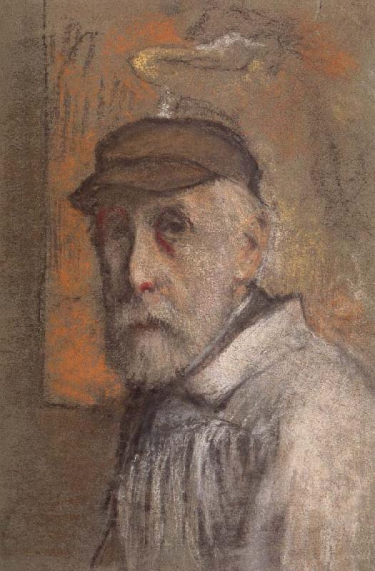 Edgar Degas Self-Portrait