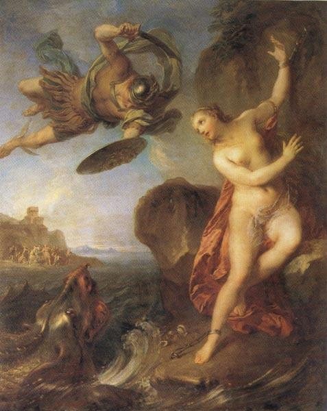 Francois Lemoine Perseus and Andromeda