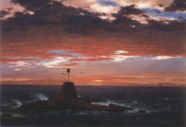 Frederic E.Church Beacon,off Mount  Desert Island oil painting image