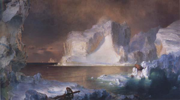 Frederic E.Church The Icebergs oil painting image