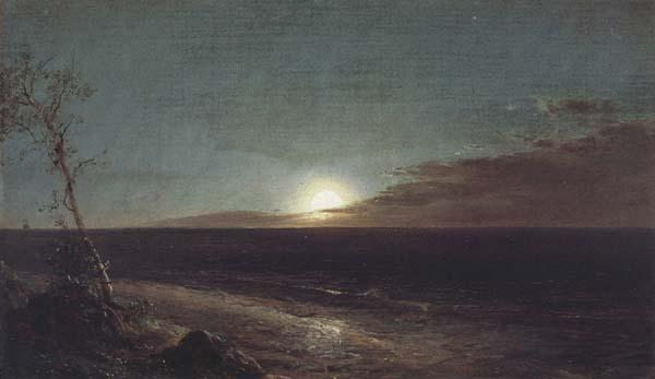 Frederic E.Church Moonrise oil painting image