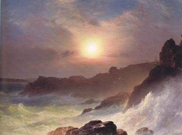 Frederic E.Church Coast Scene,Mount Desert oil painting image