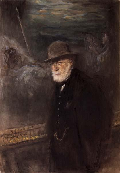 Joseph Israels Self-Portrait