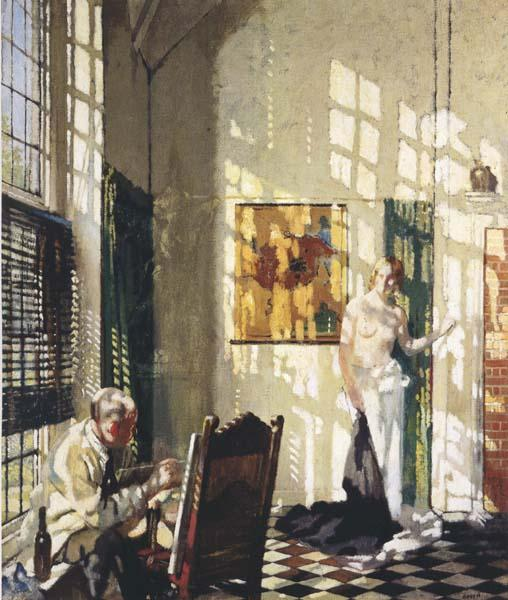 Sir William Orpen The Studio