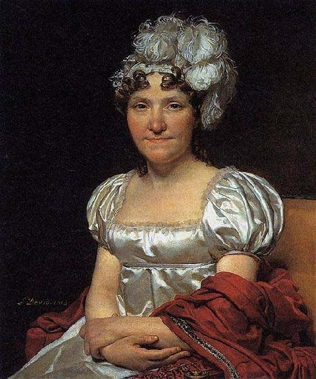 Jacques-Louis David Marguerite Charlotte David