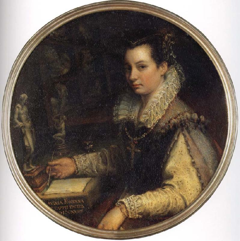 Lavinia Fontana Self portrait