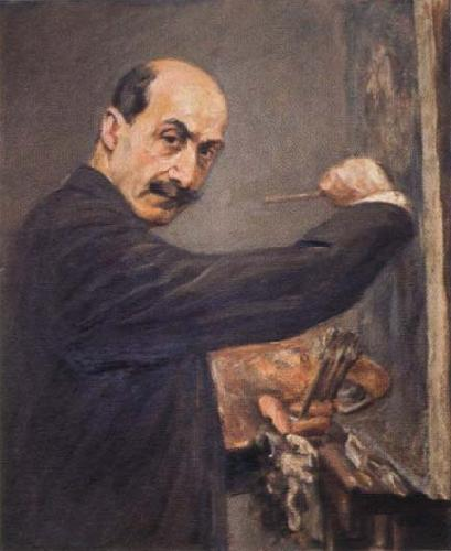 Max Liebermann self portrait
