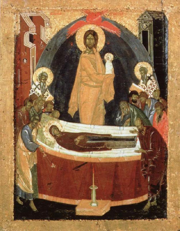 THEOPHANES the Greek Dormition of the virgin oil painting image