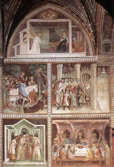 Barna da Siena Scenes from the New Testament oil painting image