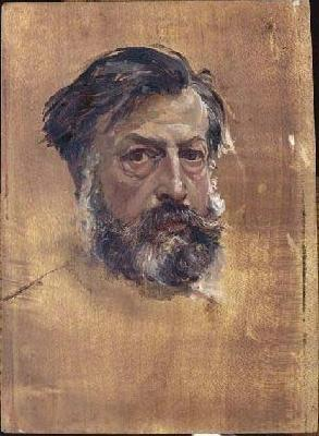Jean-Louis-Ernest Meissonier Self portrait