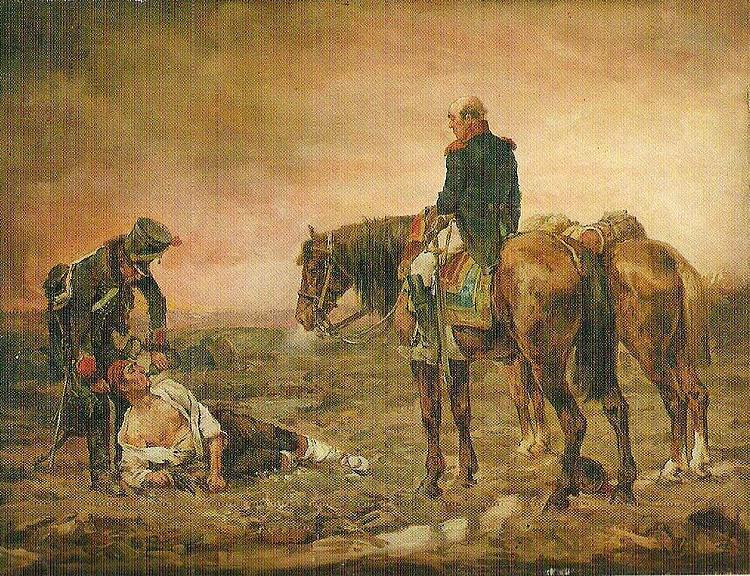 Jean-Louis-Ernest Meissonier Relief after the Battle