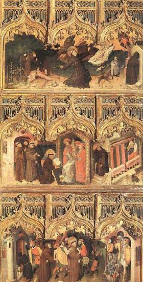 Master Francke Scenes from the Life of St Francis oil painting image