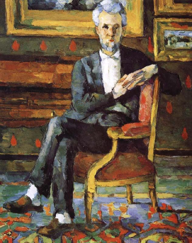 Paul Cezanne Victor oil painting image