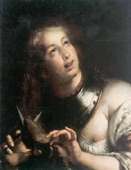 STROZZI, Bernardo Berenice - Oil on canvas Galleria d'Arte Antica oil painting image