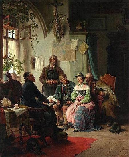 Peter Baumgartner The marriage instructions