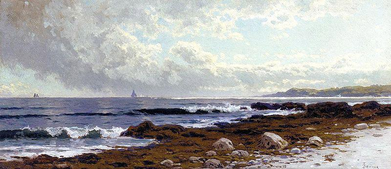 Alfred Thompson Bricher Along the Coast oil painting image