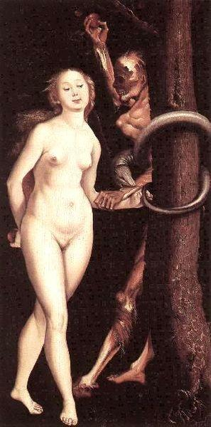 Baldung Eve Serpent and Death oil painting image