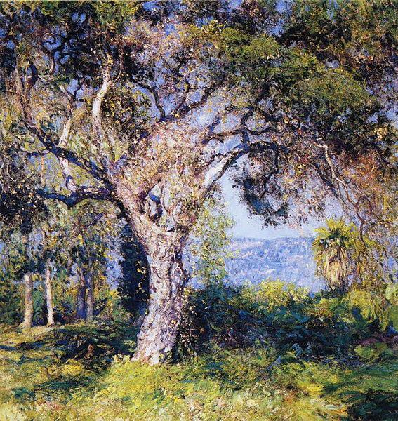 Guy Rose The Oak oil painting image