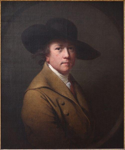 Joseph wright of derby Self portrait