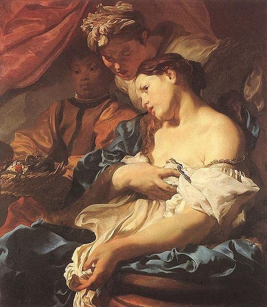 LISS, Johann Death of Cleopatra oil painting image