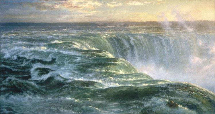 Louis Remy Mignot Niagara oil painting image