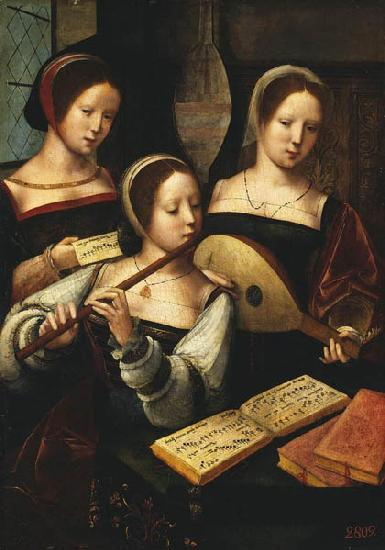 MASTER of Female Half-length Concert of Women oil painting image