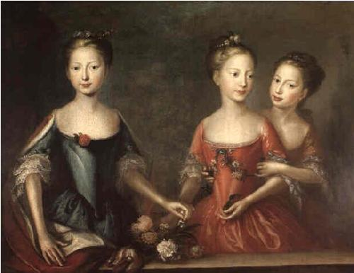 Martin Maingaud The daughters of George II
